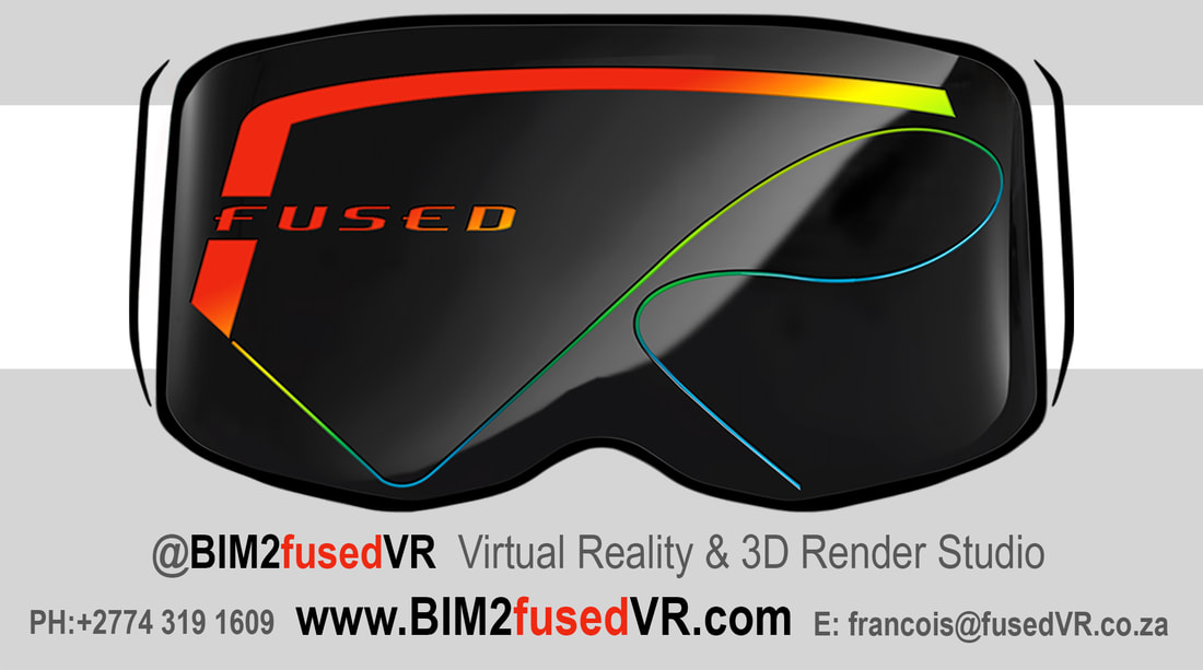 BIM2fusedVR Virtual Reality 3D Render Studio for Architecture